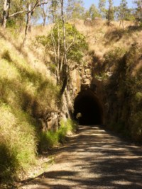 The Beginning of Boolboonda Tunnel