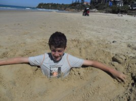 Fun at coolum