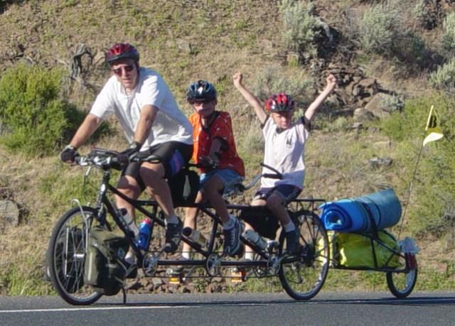 Families Adventure on Bikes