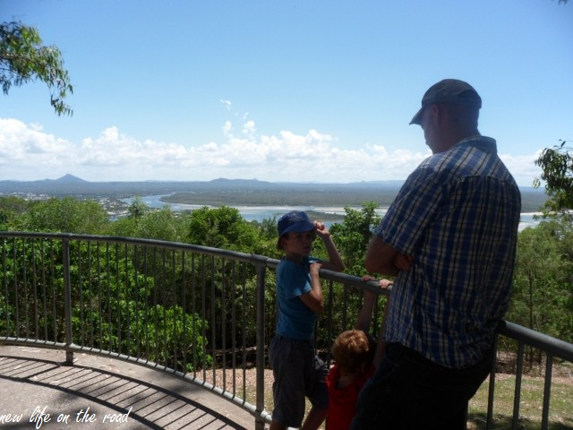 Lookout at Noosa National Park