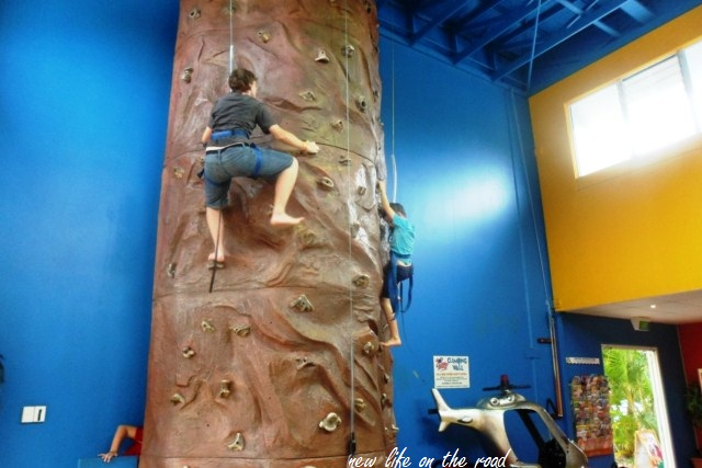 Topshots Rock wall