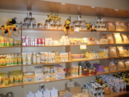 Bee Products at the Ginger Factory
