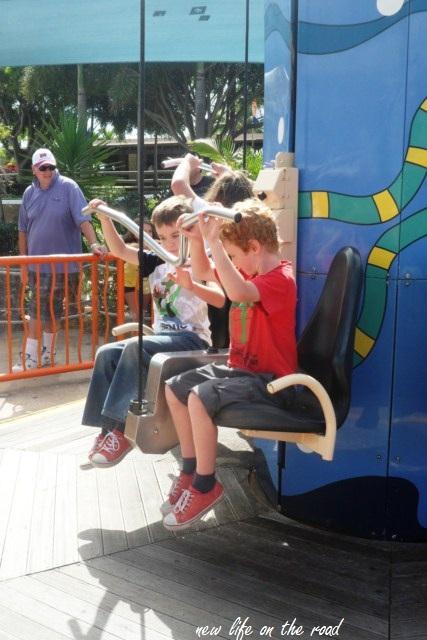 seaworld kids rides