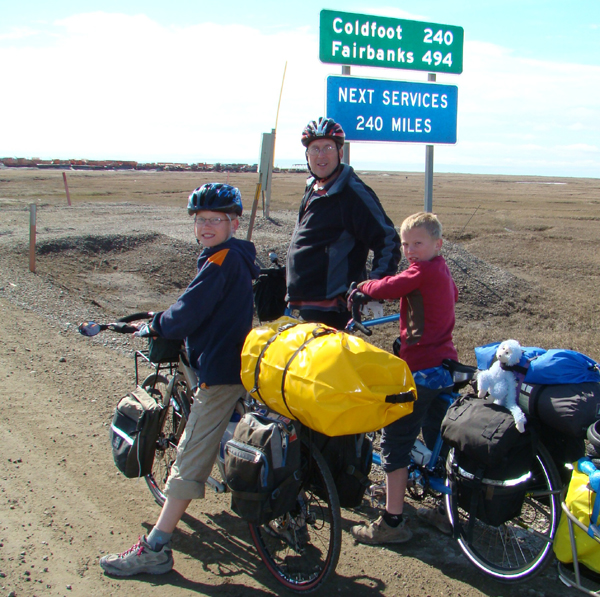 Family on Bikes Featured Travel Blogger