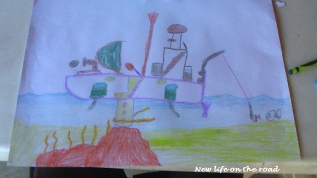 unschooling homeschooling art