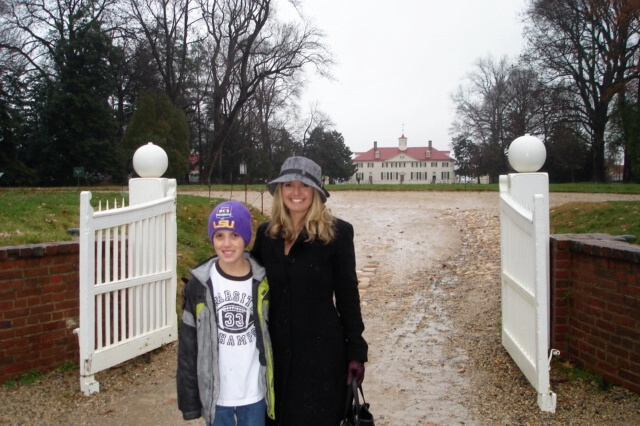Monday Featured Travel Blogger Sherri May with her son
