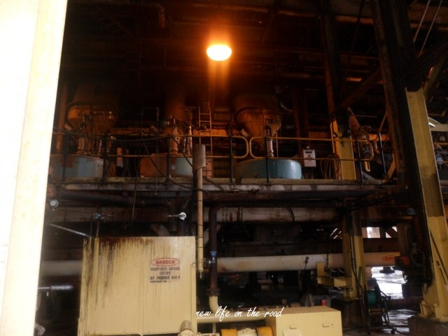 Workings of a sugar mill