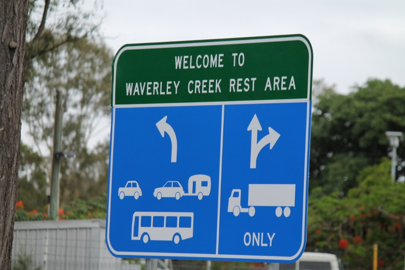 Rest Area in Queensland