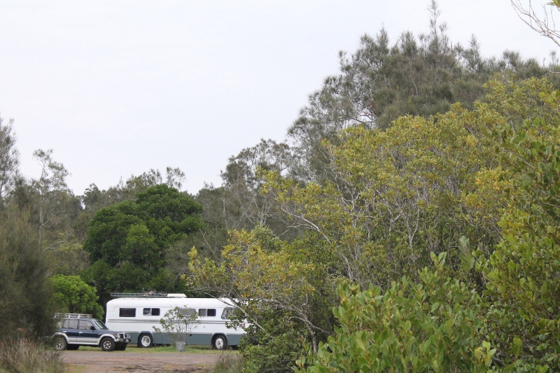 Parked at Gumma Crossing Reserve For the Night