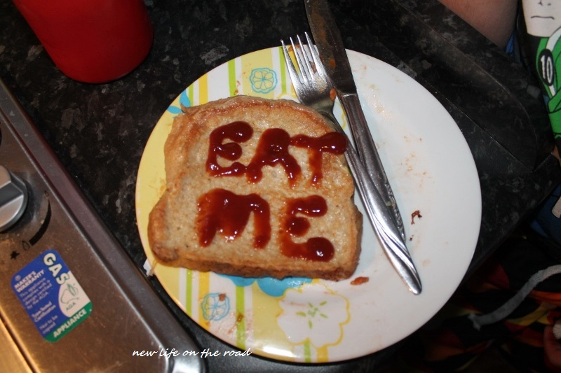 Funny French Toast