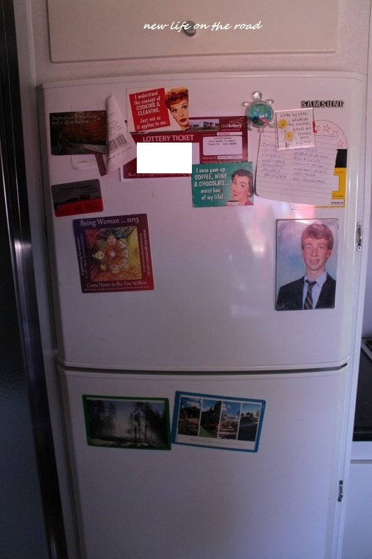 Our Motorhome Fridge