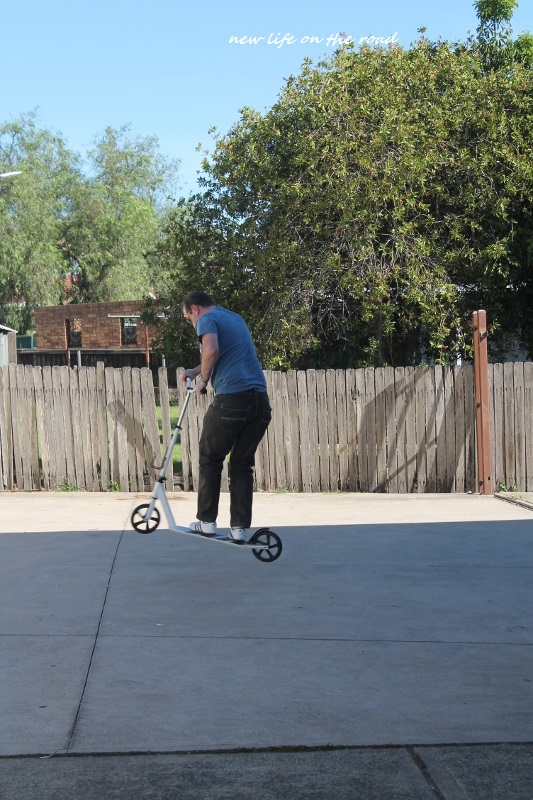 Big Wheel Scooter Tricks
