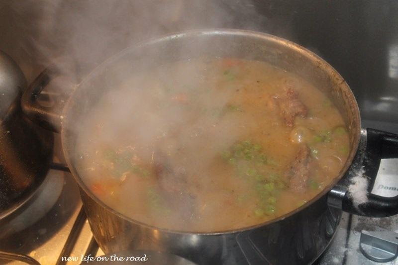 Simmer Irish Stew