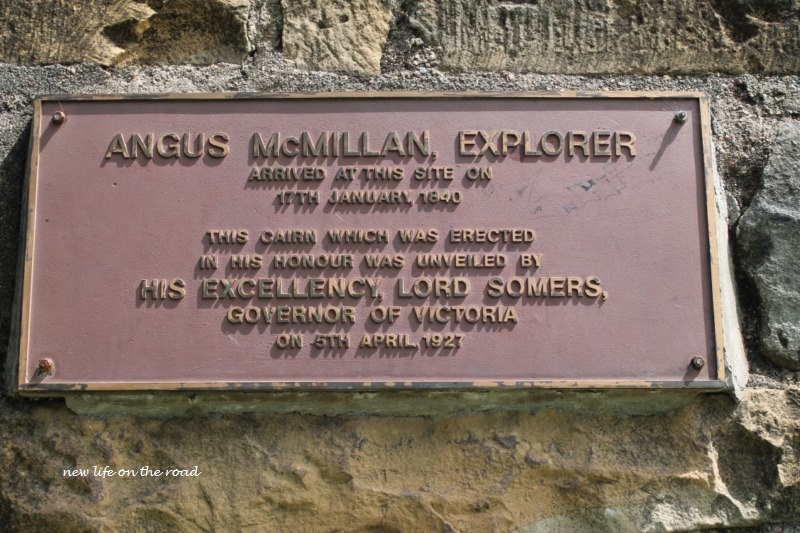 History information about Angus McMillan
