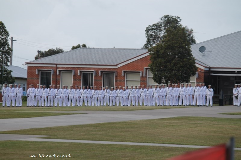 Our second Sons Navy March Out Parade