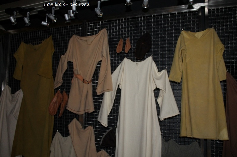 Viking Clothes Display