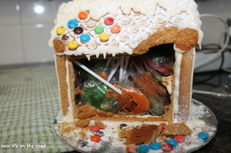 the best gingerbread house