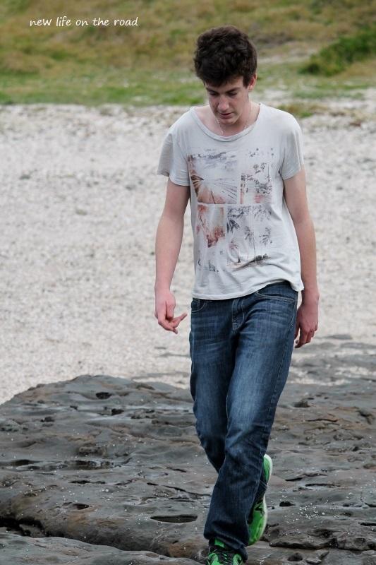 Nicholas at the beach