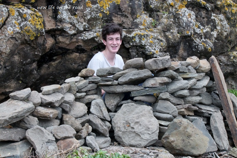 Nicholas rock Wall..