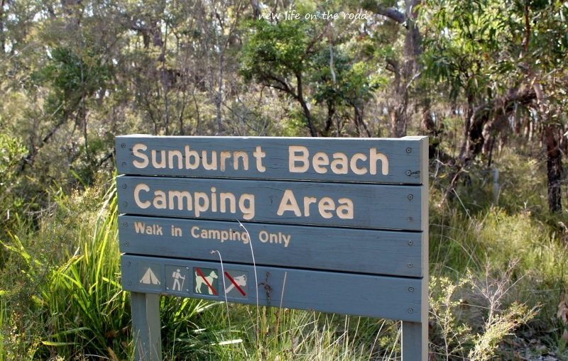 Sunburnt Beach Camping Area