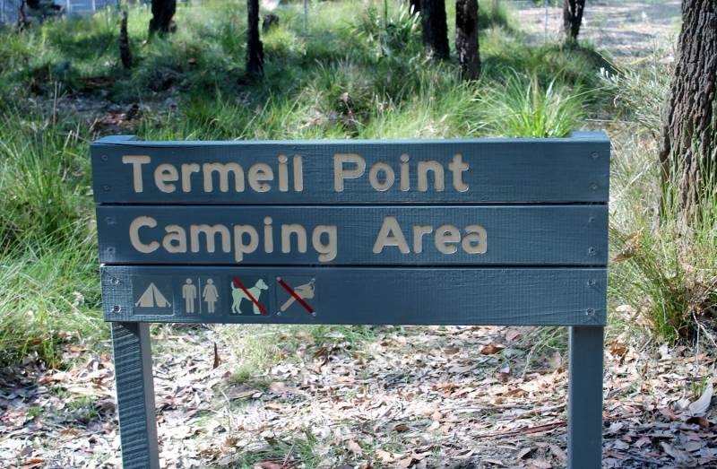 Termeil Point Camping Area
