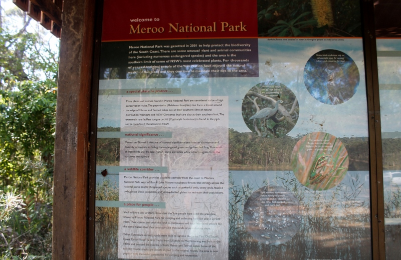Information about Meroo National Park
