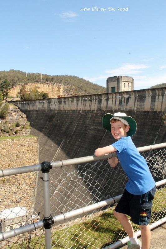 Kyle at Nepean Dam