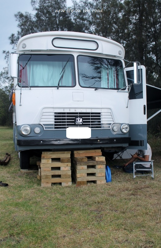Front springs of our Motorhome