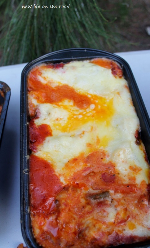 Lasagna for Cameron Birthday