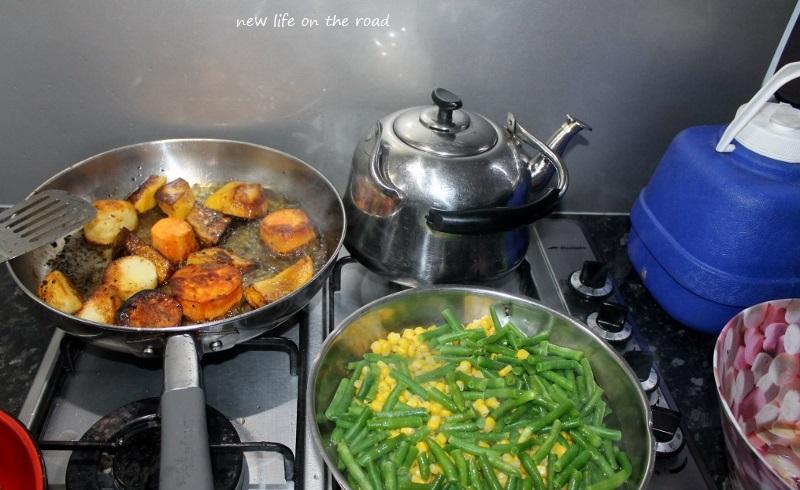 Cooking Roast Veggies