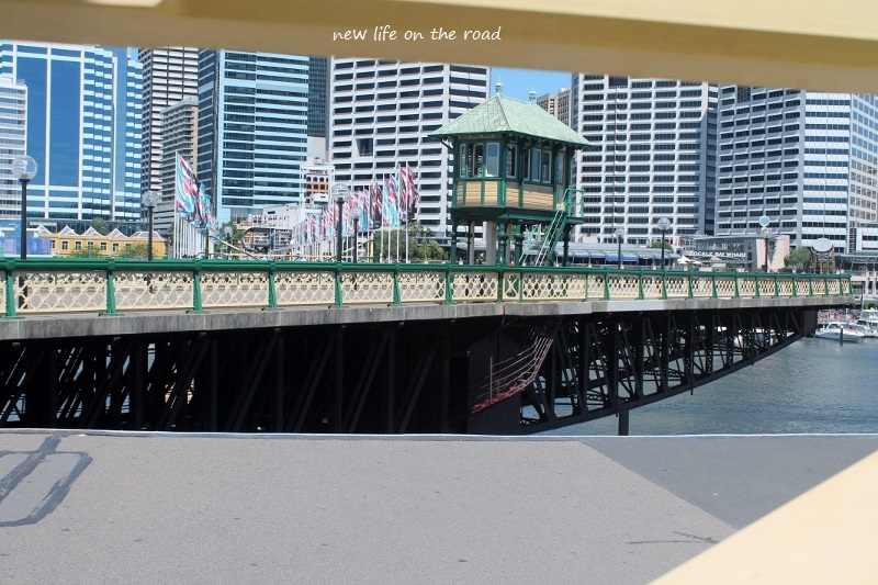 The bridge at Darling Harbour