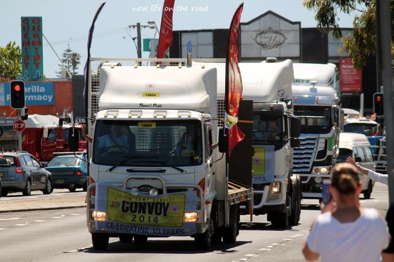 Trucks in the Convoy