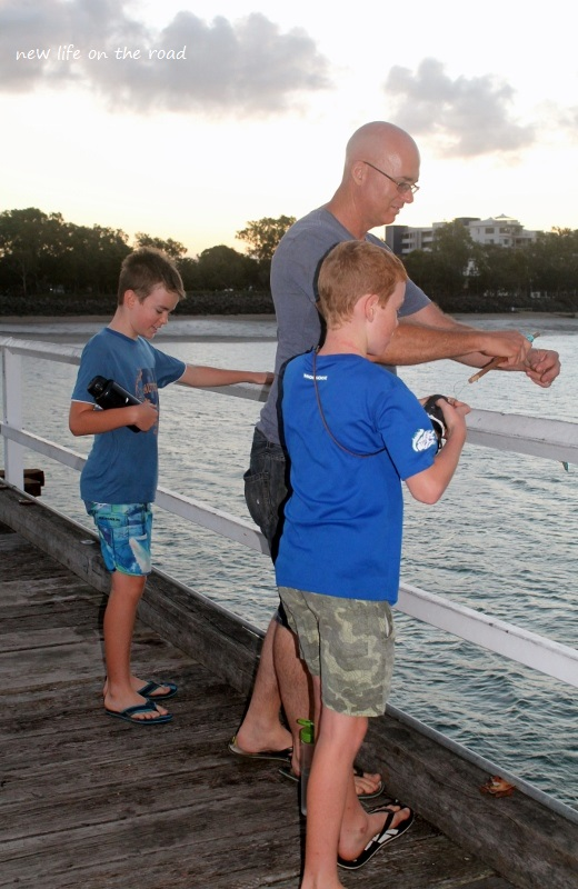 Fishing at Hervey Bay