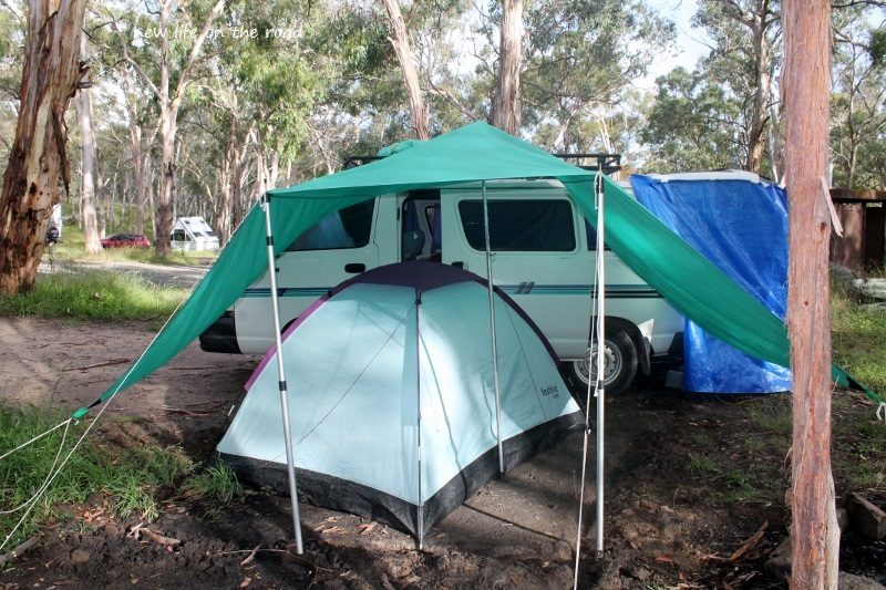Camping at Fossicking Area