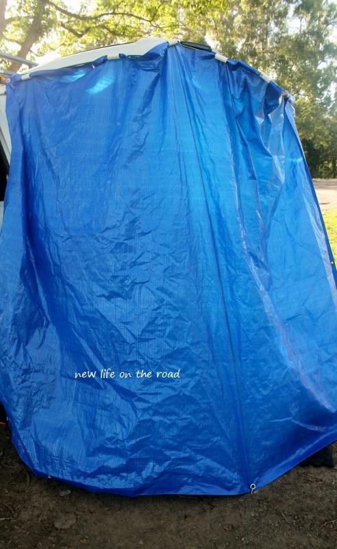 Our Campervan Shower
