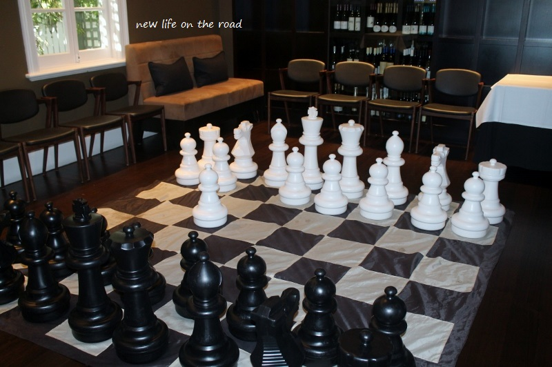 Game of Chess set up