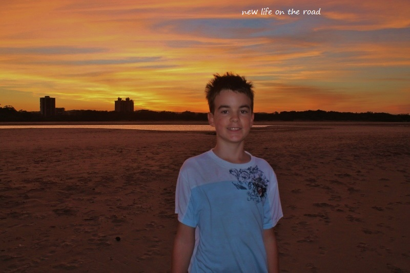 Cameron on Cotton Tree Beach