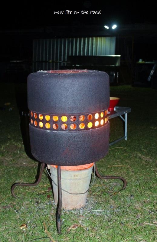 Open Fire Pit