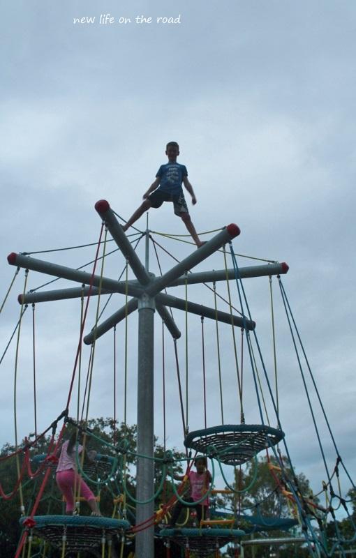 Climbed back up