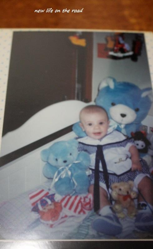 He loved teddy bears