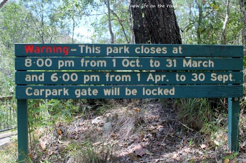 Park Closes Dates