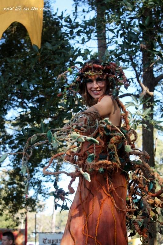 Tree Dancer on Stilts