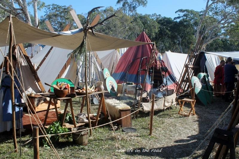 Medieval Camp Set Up