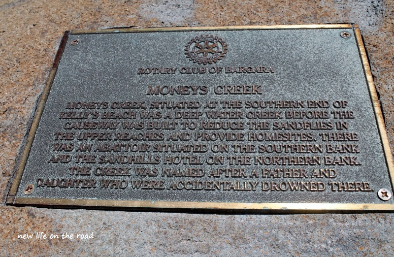 Memorial Moneys Creek
