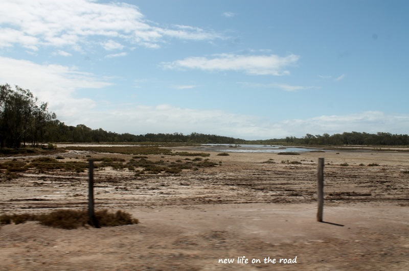 Salt Lakes at Norval Camping ground