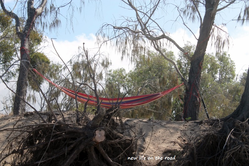Hammock on the Beach front