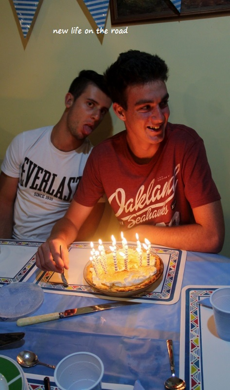 Celebrating Nicholas 17th Birthday