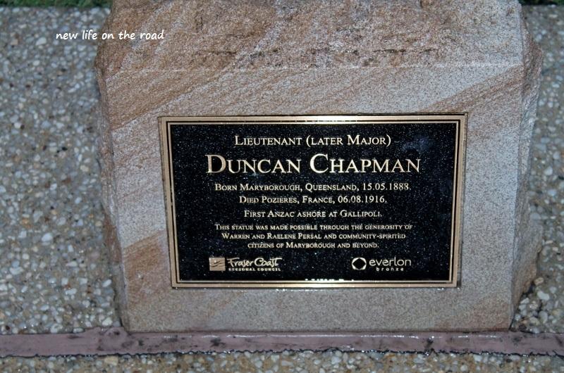 Memorial in Maryborough