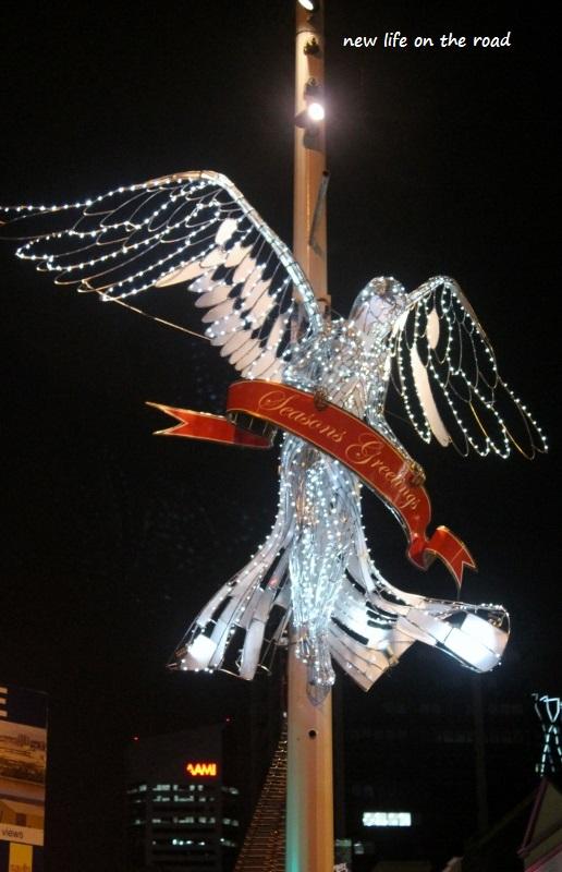 Angels on Queens Street Mall Brisbane