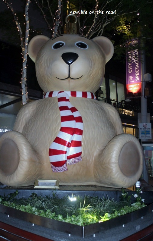 The Big Teddy Bear in Queen Street